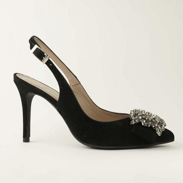Zapato joya negro
