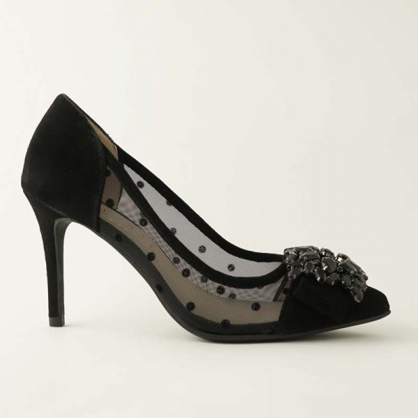 Stiletto joya negro