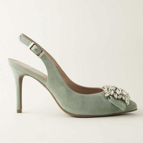 Zapato joya menta