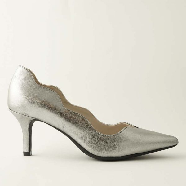 Stiletto ondas metal plomo