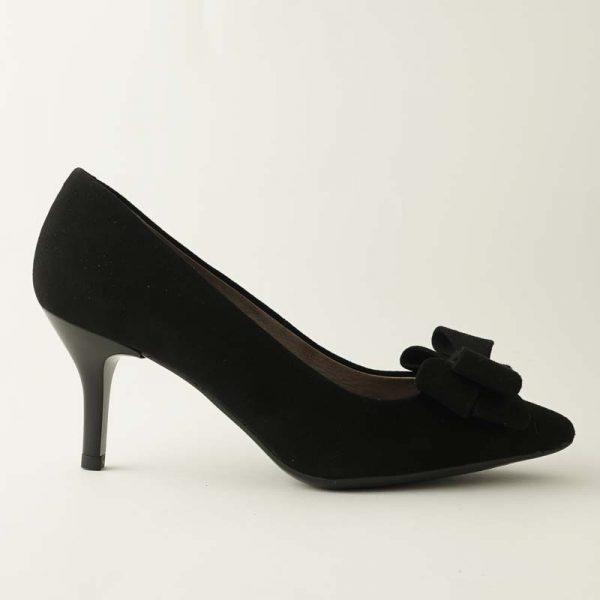 Zapato lazo negro
