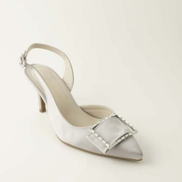 Zapato joya gris
