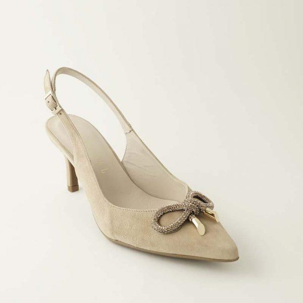 Zapato joya camel