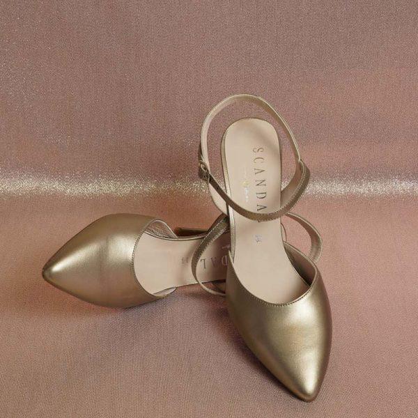 Salón pulsera bronce