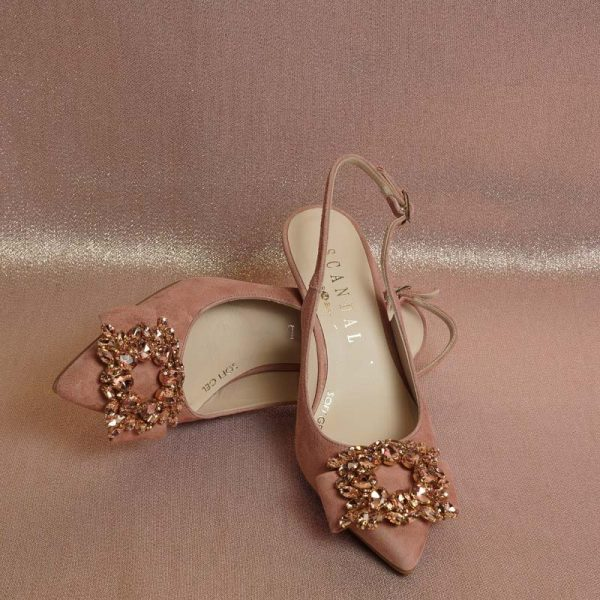 Zapato joya maquillaje