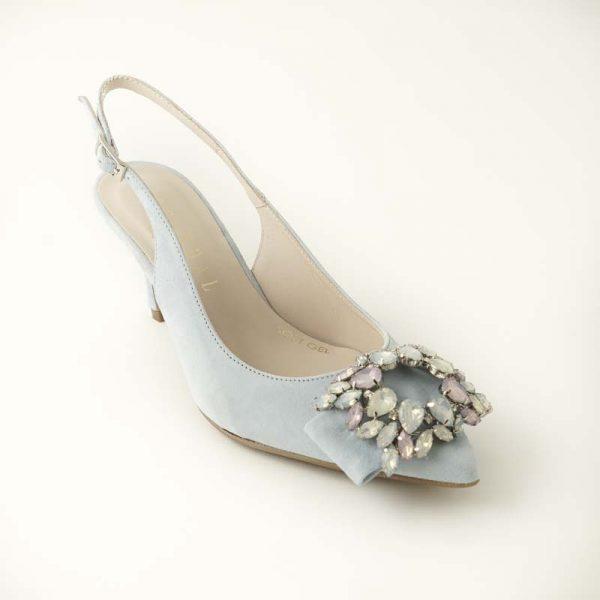 Zapato joya celeste